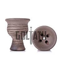 Чаша для кальяна Goliath Bowl Simple, Dark Grey (Голиаф Боулз), фото 1