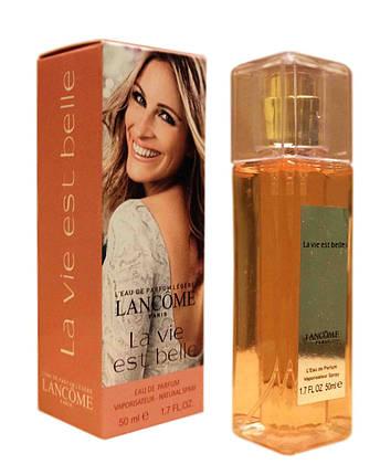 Женская парфюмированная вода Lancome La Vie Est Belle edp - Crystal Tube 50ml реплика, фото 2