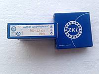Подшипник ZKL 6001 C3 2Z (12x28x8) однорядный с тепловым зазором, фото 1
