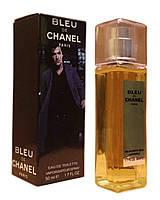 Мужская туалетная вода Bleu de Chanel edt - Crystal Tube 50ml