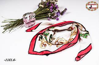 Брендовый шёлковый платок CHANEL (реплика), фото 2