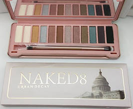 Набор теней Urban Decay Naked8 - 12 цвета