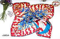 Брендовый шёлковый платок DIOR