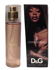 Dolce Gabbana 3 L`Imperatrice edt - Original Mini 40ml