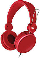 Наушники Coby CVH-802-RED