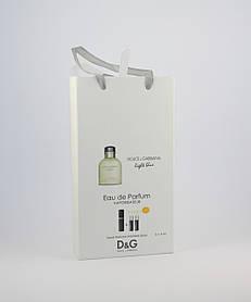 Dolce Gabbana Light Blue pour Homme edt 3x15ml - Trio Bag