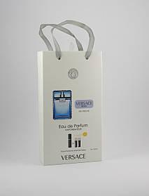 Versace eau Fraiche edt 3x15ml - Trio Bag реплика