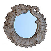 Резное зеркало Дракон