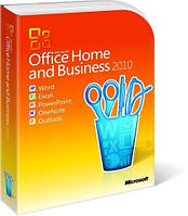 Программа Microsoft Office Home and Business 2010 32-bit/x64 Russian BOX (T5D-00412) распечатан