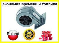 Вентилятор KG Elektronik DP-02. Турбина. Нагнетатель. Улитка. Для твердотопливного котла