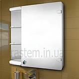 """Навесной шкаф в ванную с зеркалом м""""870"""", фото 2"""