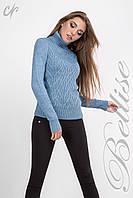 Зимний вязанный свитер