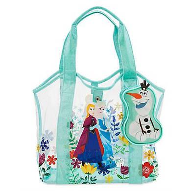 Пляжная сумочка Анна и Эльза Холодное сердце Дисней / Frozen Swim bag Anna and Elsa Disney