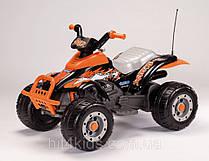 Детский квадроцикл Peg-Perego T-Rex Черно-оранжевый (OR 0066)