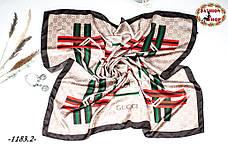 Брендовый шёлковый платок GUCCI (реплика)