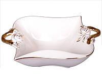 Фарфоровая конфетница Lefard Белая роза 263-640