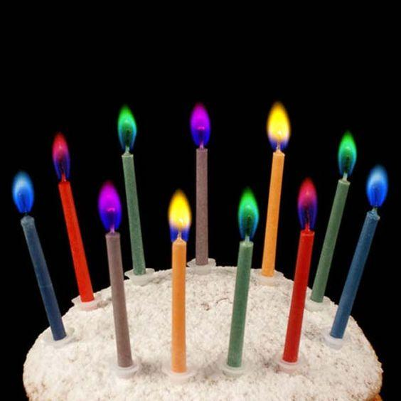 свечи для торта