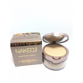 Компактная рассыпчатая пудра 2 in 1 для лица Naked3 реплика