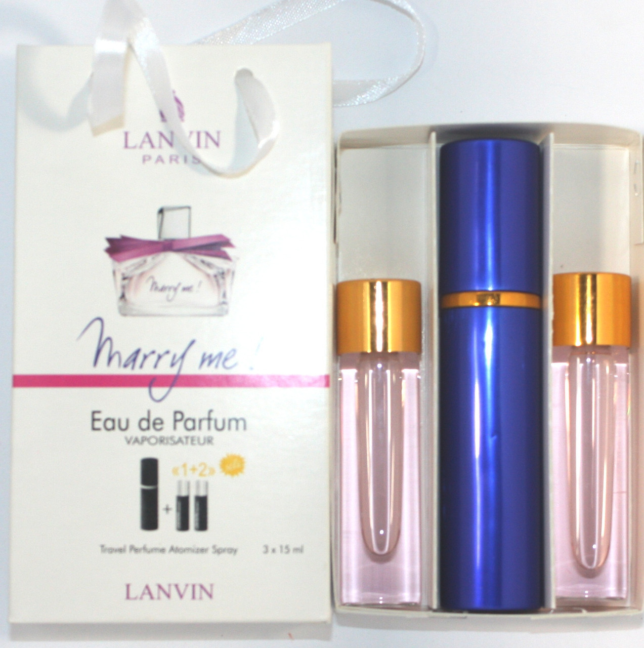 Lanvin Marry Me edt 3x15ml - Trio Bag реплика
