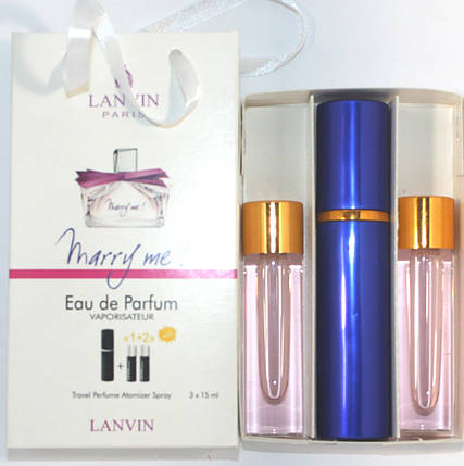 Lanvin Marry Me edt 3x15ml - Trio Bag реплика, фото 2