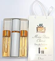 Christian Dior Miss Dior Cherie edt 3x15ml - Trio Bag