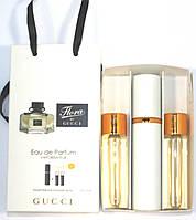 Flora by Gucci edt 3x15ml - Trio Bag