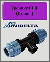 """Тройник Unidelta 110х3"""" РВ ПНД, фото 1"""