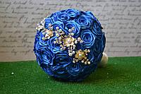 Букет-дублер синій Свадебный букет дублёр синий