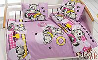 Комплект постельного белья в кроватку Class Ayicik v2 Lila