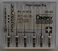 Протейперы (Dentsply Mallifer),Pro Taper F5-25mm  машинные,6шт.