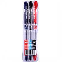 "Набір Piano ""Maxriter"" PT-335/3 масляні ручки 3шт, 3 кол. 0,5мм"