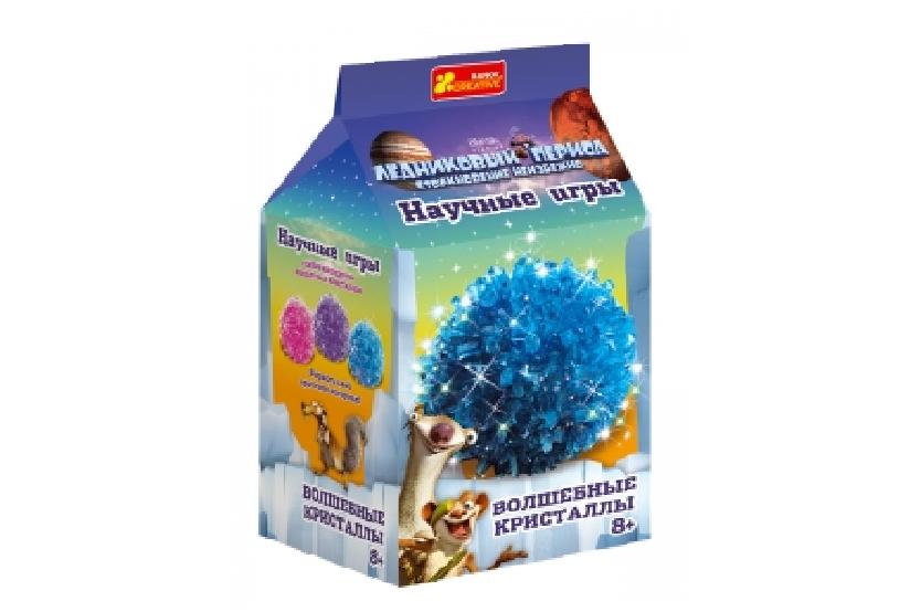 Научные эксперименты: Волшебные кристаллы Голубой