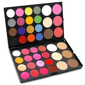 Универсальная палитра для макияжа 5 в 1 (Тени, пудра, румяна, помада, консиллер) 44 цвета MAC