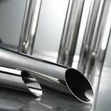 Диаметр 48,3х2,5мм Трубы нержавеющие AISI 304 / AISI 201 tig 600 grit Полированная Зеркальная в пленке Порезка, фото 7
