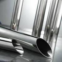 Діаметр Труби нержавіючі AISI 304 / AISI 201 tig 600 grit Полірована Дзеркальна в плівці Порізка