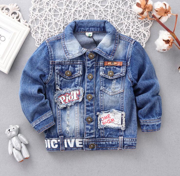 Куртка джинсовая 90, 100,  120