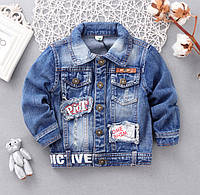 Куртка джинсовая 90, 100,  120, фото 1