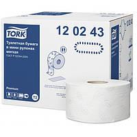 Tork т/бумага в мини рулонах джамбо 170 м. 2 сл., супер мягкая (Premium).