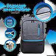 """Рюкзак для ноутбука Promate Ascend-BP 15.6"""" Grey, фото 3"""