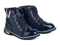 Новая коллекция осенних ботиночек для девочек от производителя GFB G1163-3 (8пар 26-31)
