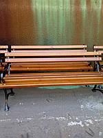Брус  деревянный ясень для скамейки садовой 1800*60*35