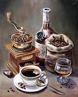 """Набор алмазной мозаики """"Кофе с коньяком"""""""