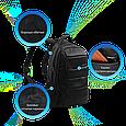 "Рюкзак для ноутбука Promate bizPak-BP 15.6"" Black, фото 6"