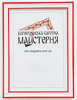 Рамка для документов А3, 30х40 Красная