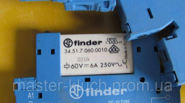 Ультратонкое реле 34.51.7.060.0010 6A 60V 1CO DC Finder