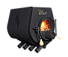 Отопительная конвекционная печь Rud Pyrotron Кантри 01 с варочной поверхностью