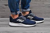 """Мужские  кроссовки  Adidas Alphabounce """"Dark Blue"""""""