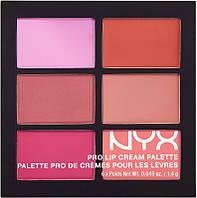 Палетка помад NYX Pro Lip Cream The Reds