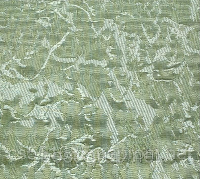 MSV-122 Зелене яблуко (0,675 х 1,70 м) Venecia (Венеція) -тканинні ролети Oasis Оазис