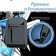 """Рюкзак для ноутбука Promate Lucent-BP 15.6"""" Grey, фото 5"""